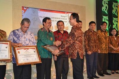 RSJD Dr. RM Soedjarwadi meraih Peringkat I kategori Pelayanan Informasi Terbaik 2014